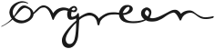 Ørgreen optik logo